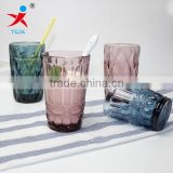 High quality beer cup glass cup coloured glass cup