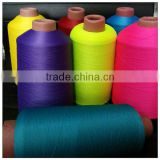 Dyed high-elastic 70d/24f/2 nylon yarn for sock use in good quality