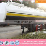 best price hot sale 35000 liters 2 axles fuel trailer