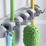 Multi-purpose Wall Rack Magic Tool Broom Mop Holder