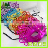 Halloween glitter simple design party mask masquerade Karneval half face mask
