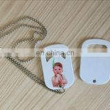 sublimation blank heat press personalized bottle opener
