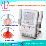 Best effective homeuse no-needle mesotherapy device with radio frequency facial treatment for skin rejuvenation