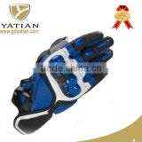 Cheap outdoor sports full finger carbon fiber cycling motorcycle gloves leather racing gloves