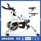 NEW Dragon Sports Spin Flywheel Exercise Bike SB450 Cardio Workout Heavy Duty Exercise Machine Home Fitness Gym Pulse Monitor