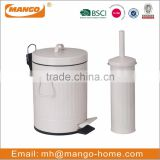 Colorful Round Metal Sanitary bin