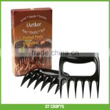 STRONGEST BBQ MEAT FORKS Pulled Pork Shredder Claws Shredding Handling & Carving Food Claw Handler