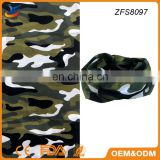 Multifunctional seamless tube Camouflage Scarf Riding Magic Scarf
