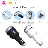 4 in 1 new making mobile phone charger in car with led and razor