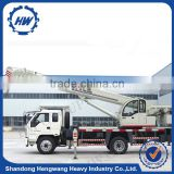 Hydraulic Folding 8 Ton Truck Mounted Crane For Sale
