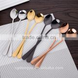 high quality stainless steel coffee spoon /zy fancy titanium plate stainless steel animal spoon /fancy dinnerware tableware