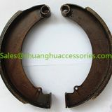 Brake shoes, good quality steel, ISO 9001:2008