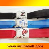 Rhinestone buckle airplane aircraft airline buckle belts