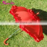 A0260 Red PG fabric small child umbrella