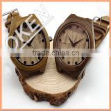 Recycled <b>raw</b> <b>material</b> <b>WOOD</b> BAMBOO watch