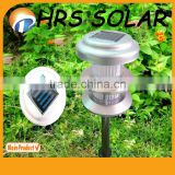 CE, ROHS, Alminum Garden Light New Design, multi colored solar path lamp