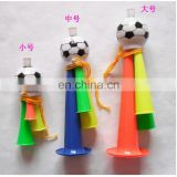 Cheering props plastic toy funny fan horn