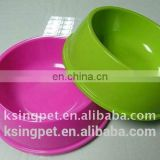 double melamine bowl