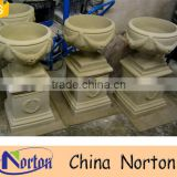 Cheap wholesale stone garden flower pots NTMF- FP407A