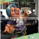 Artifical Home Decoration / Artificial Dwarf statue / Fair Story Statue