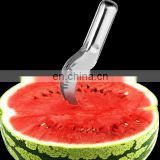Watermelon Slicer Cutter Knife Corer Server Stainless Steel Kitchen Fruit Tool