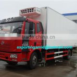 Chinese chengli supply top grade faw new 4x2 ice cream van with lowest price
