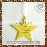 Promotion star shape auto air freshener