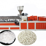 2018 TPR sole material twin screw compounding granules making machine