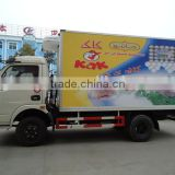 2015 hot sale mini refrigerated trucks for sale,Euro III or Euro IV 5 tons new freezer trucks