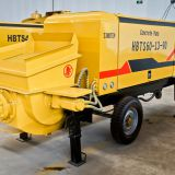 60m³/h Electric Type Trailer Mounted Concrete Pump Model: HBTS60-13-90 - Taian Sinotep Machinery Co.,Ltd