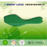 Natural latex insoles