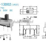 SS-12D02 Slide Switch