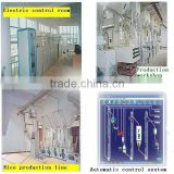 Full set rice processing machine line