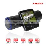 Cheap OEM Car DVR Video Recorder GPS Logger G-sensor Dual Lens Camera