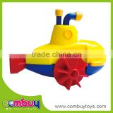 Interesting wind up plastic swimming submarine toy for baby
