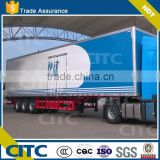 Box /cargo semi trailer with good quality, Van semi trailer for export, van truck trailer with low price