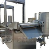 Industrial Broad Beans Frying Machine Equipment|Automatic Fava Bean Fryer Machine