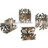 Decorative Metal Napkin Ring