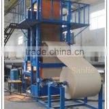 Evaporative honey comb cooling pad production line/cellulose cooling pad production line