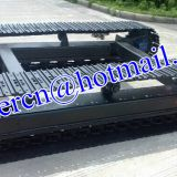 custom built steel crawler undercarriage for drilling rig