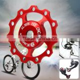 Kactus Cycling MTB Guide Roller Wheel Rear Derailleur Pulley Alluminum Alloy CNC 11T for SHIMANO SRAM