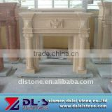 Modern fireplace mantels