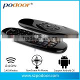 Air mouse, 2014 podoor newest fly Air mouse for devices: PC ,Smart TV, Network Media player, Tablet, Game player,etc. Air mouse