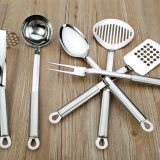 Stainless steel <b>kitchen</b> utensil <b>set</b>