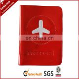 Promotional PVC Passport Holder For Airline Company