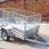 ATV galvanized travel trailer with ball hitch
