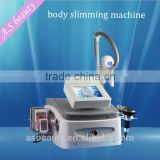 Fat Reduction Multifunction RF Ultrasonic Contour 3 In 1 Slimming Device Cavitation Cryo Lipo Laser Machine
