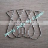 Hanging Ceiling Advertising 8 Shape Galvanized Metal Clip