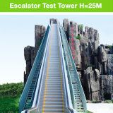 Outdoor escalator with 30 degree 1000mm step width