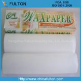 100% virgin wood pulp imported from Canada wrapping fatty food Food Grade Wax Paper